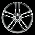 "20"" Aud26 5 Double Spoke Machined Gunmetal Wheels for Audi Q5"