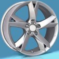 "20"" Aud23 Silver Five Spoke Twist Wheels for Audi A8 96-12"