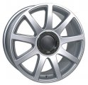 "17"" Aud17 Silver Wheels with Integrated Center Cap for Audi A5"