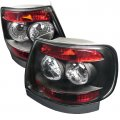B5 Black Euro Tail Lights for 96-01 Audi A4