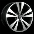 "17"" Aud11 Double Spoke Machined Wheels with Gunmetal for Audi A3"