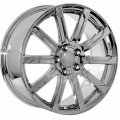 "17"" Aud14 Chrome 10 Spoke Wheels for Audi A6 2009-2010"