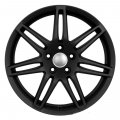 "17"" Aud6B Matte Black Double Spoke Wheels for Audi A4 1996-2012"