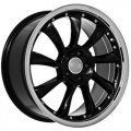 "19"" Aud5 Black Wheels with Polished Lip for Audi A8 1996-2012"