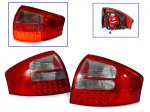 Red and Clear LED Tail Lights for Audi A6 1998-2004