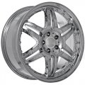 "20"" Aud3 Chrome Wheels with Rivets for Audi A6 1994-2012"