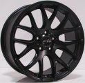 "20"" Aud12 Black Painted Large Spoke Wheels for Audi Q5 2009-2012"