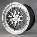 "17"" Aud13 Silver Multi-Spoke LV Wheels with Rivets for Audi A6"