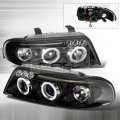 B5.5 Black Projector Headlights for 00-01 Audi A4