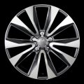"18"" Aud2 Gunmetal Machined Wheels for Audi A3 2006-2012"