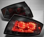 Black Smoked LED V2 Euro Tail Lights for Audi TT 2000 - 2006