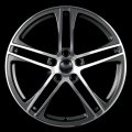 "17"" Aud7 Gunmetal V2 Machined Wheels for Audi A6 1994-2012"